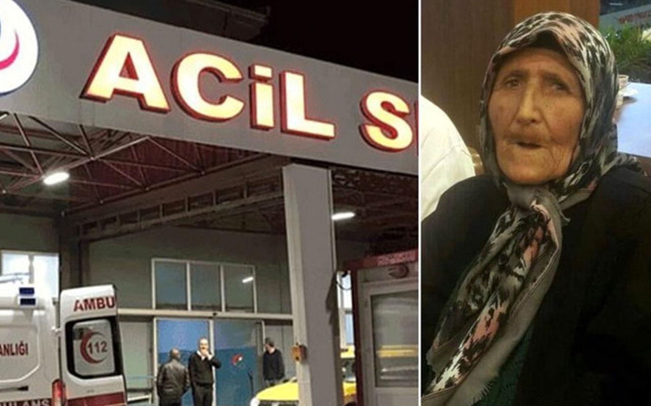 Gaddar oğlu acımasızca dövmüştü o kadın hayatını kaybetti