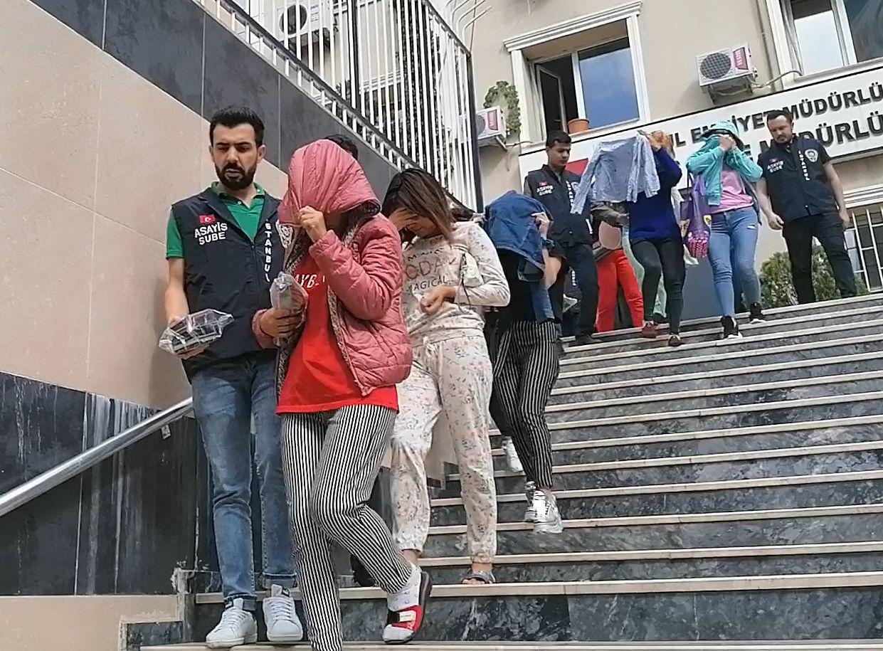 İstanbul'da fuhuş operasyonunda Mobil Türkan yakayı ele verdi