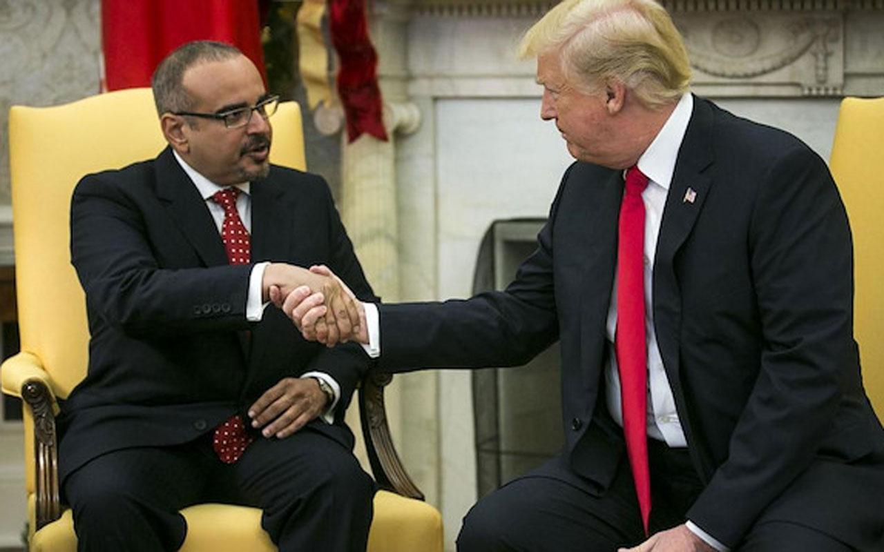 DonaldTrump'tan  Bahreyn Veliaht Prensine: Bu para çok size!