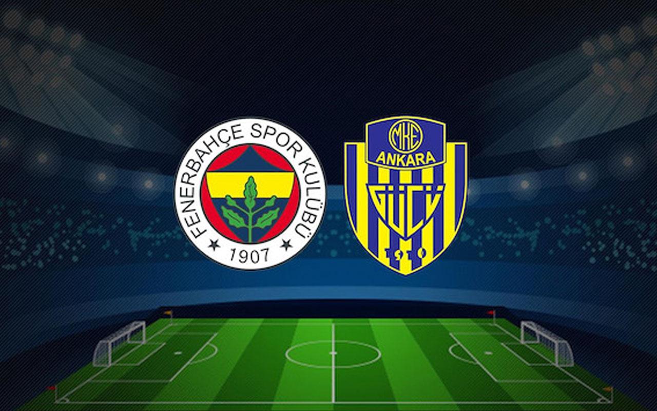 Fenerbahçe Ankaragücü maçı özeti ve golleri