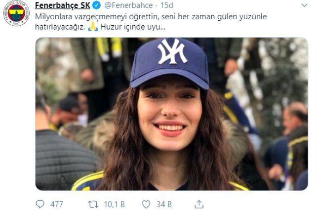 Futbol dünyasından Türkiye'yi yasa boğan Neslican Tay paylaşımları hepsi yürek burktu