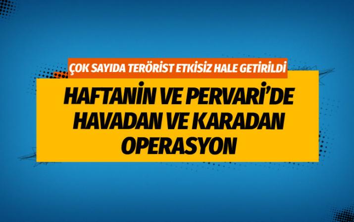 PKK'ya rahat yok! Havadan ve karadan operasyon çok sayıda ölü var...