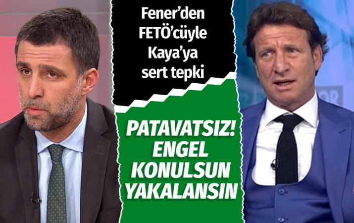 Fenerbahçe'den FETÖ'cü Hakan Şükür ve Kaya Çilingiroğlu isyanı