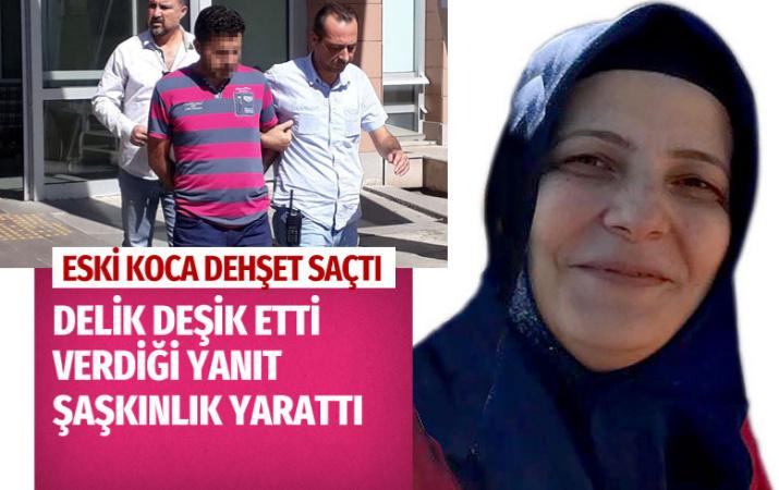 İzmir'de barışmayı reddeden eski eşini bıçakladı cevabı çok şaşırttı