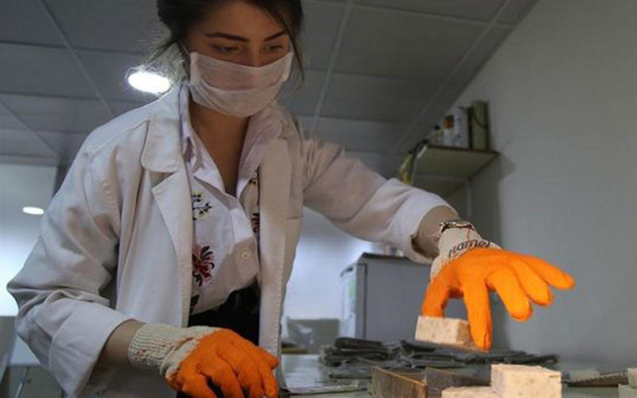 Şanlıurfa'da isottan sabun yaptılar bakın neye iyi geliyor