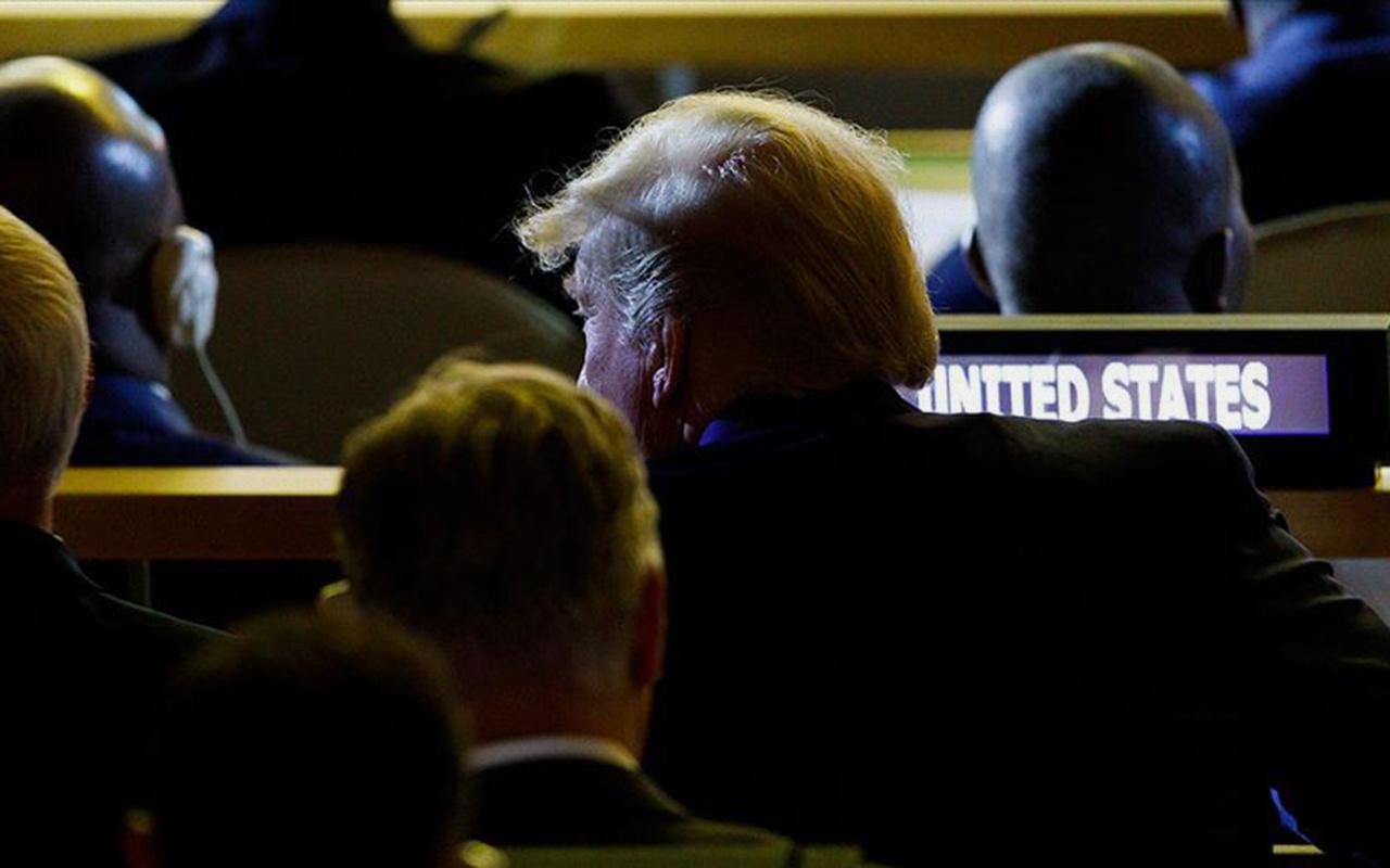 Trump'tan İklim Zirvesi'ne beklenmedik ziyaret