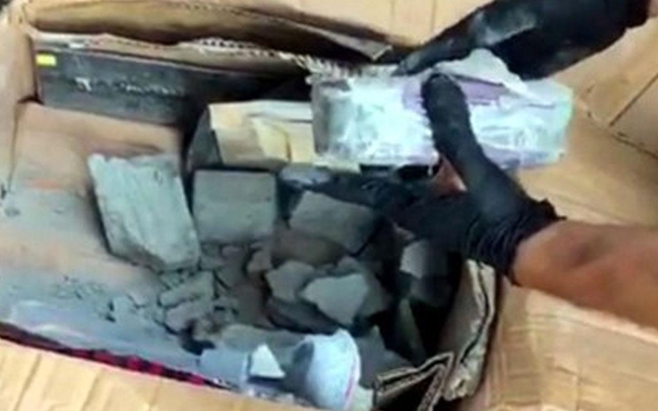 Kargo şirketinde paketleri açan polis gözlerine inanamadı
