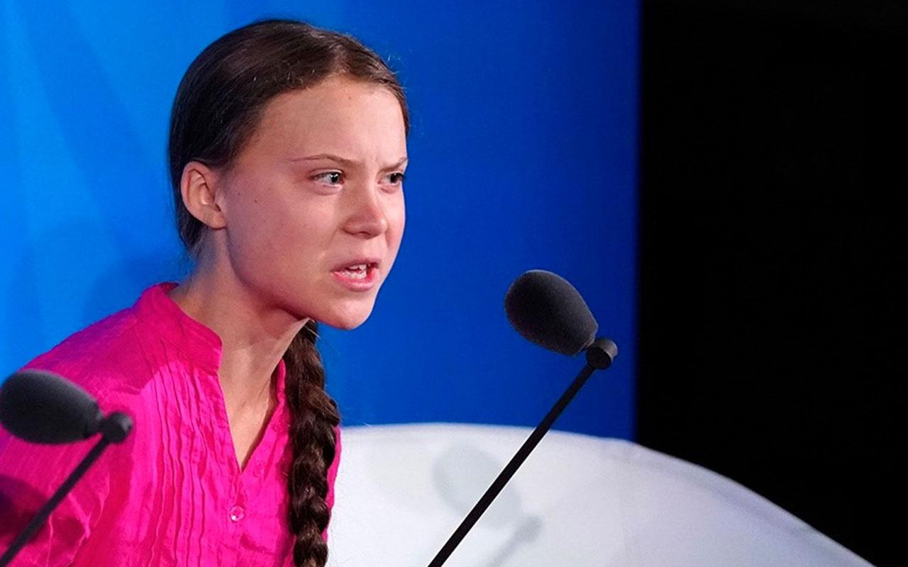 16 yasındaki iklim aktivisti Greta Thunberg BM'de liderlere sert konuştu