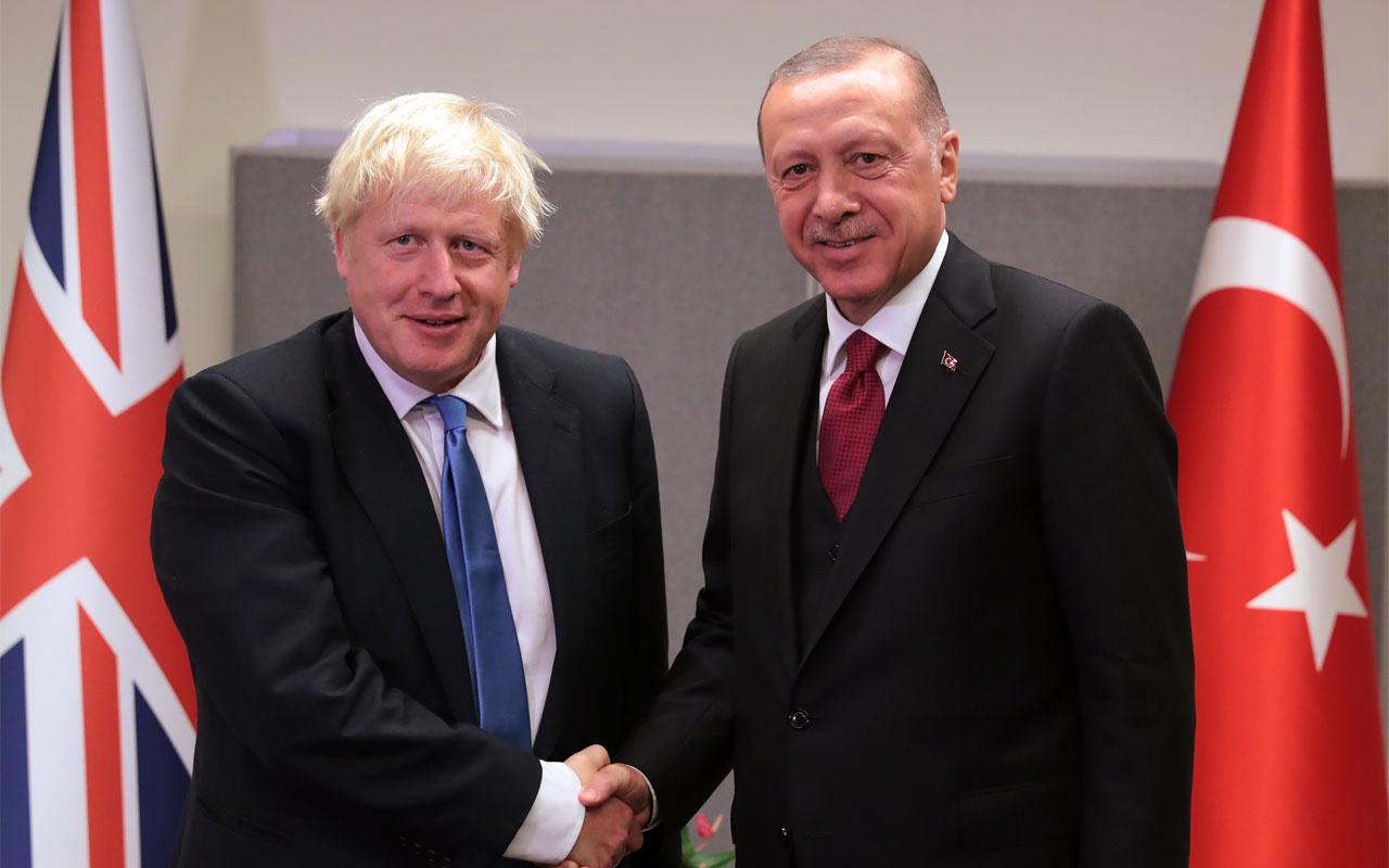 Erdoğan BM'de Boris Johnson ile görüştü