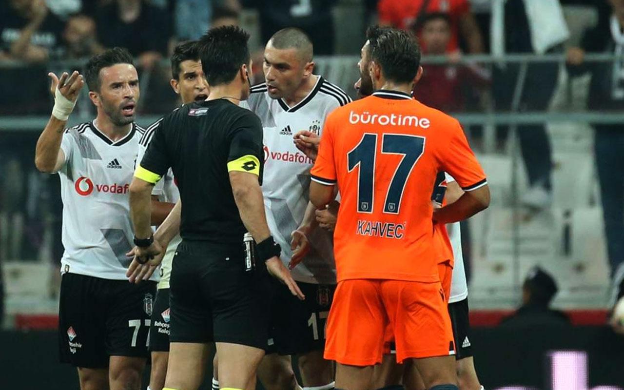 Beşiktaş Başakşehir maçının skandal hakemi Suat Arslanboğa için karar verildi