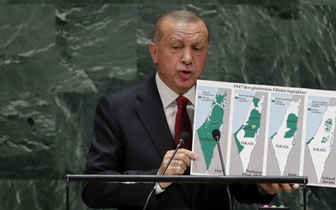 Erdoğan fitili ateşlemişti BM'de bir ülkeden daha Filistin çağrısı