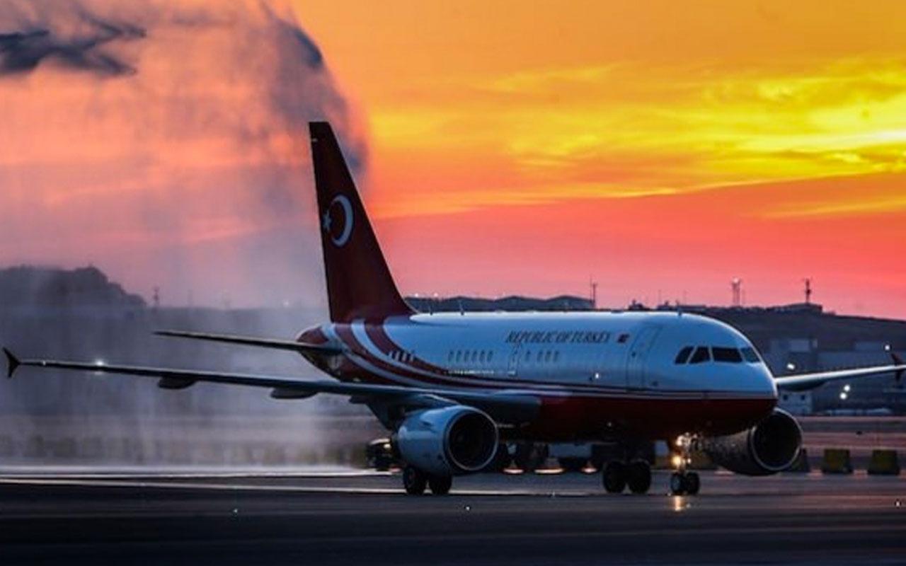 Erdoğan yurda dönüyor! Uçağı Türkiye'ye hareket etti