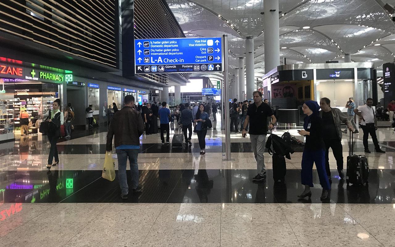 İstanbul'da deprem havalimanı çalışanı o anları anlattı