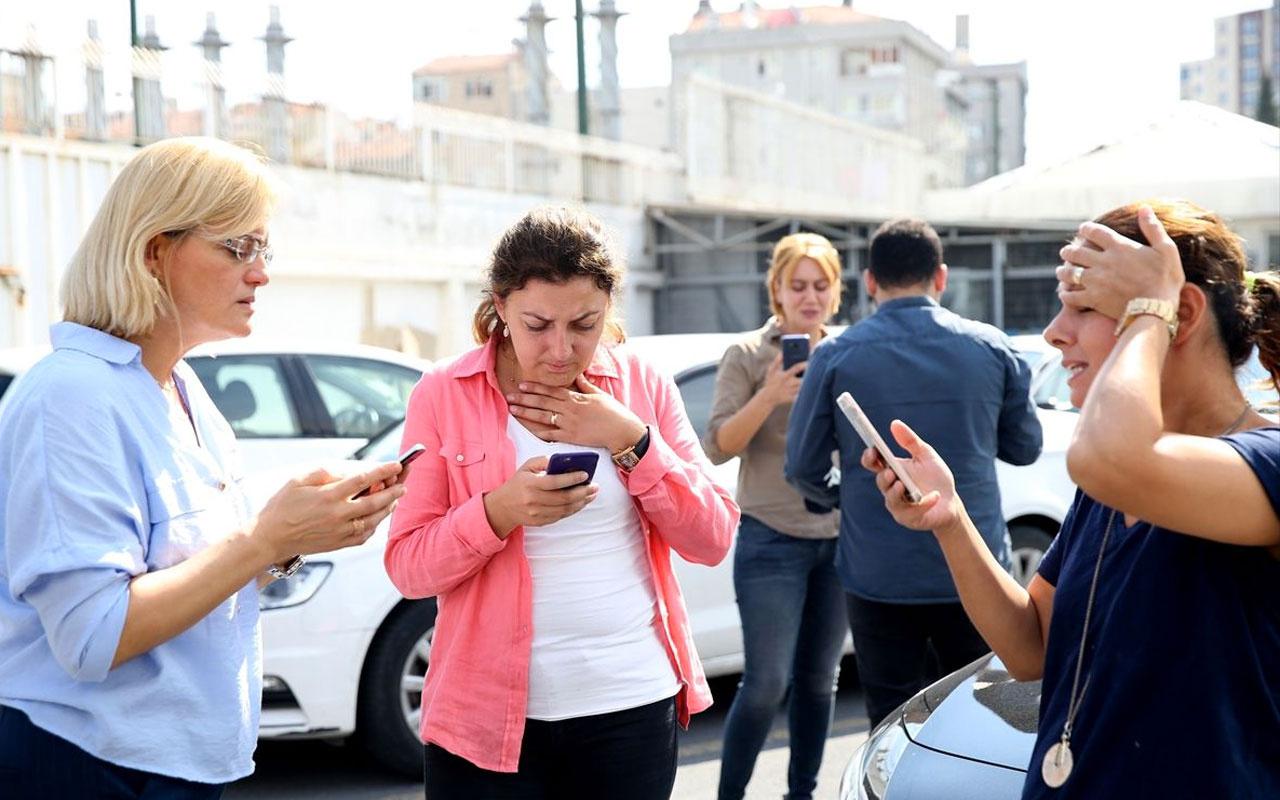 İstanbul'daki deprem Eskişehir'de hissedildi