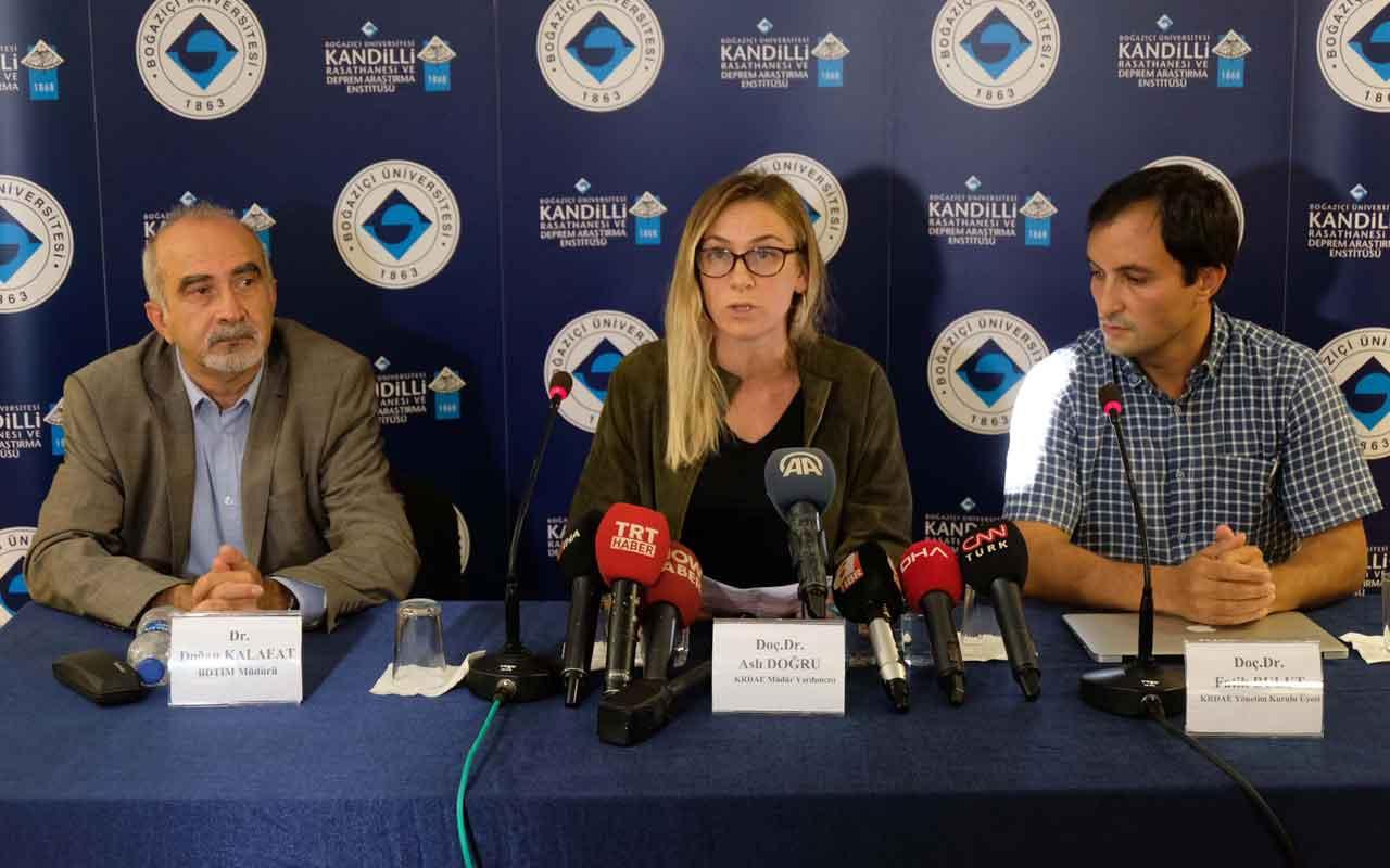 Kandilli'den deprem açıklaması! Kalafat: Tekirdağ ve İstanbul için önemli bir test oldu