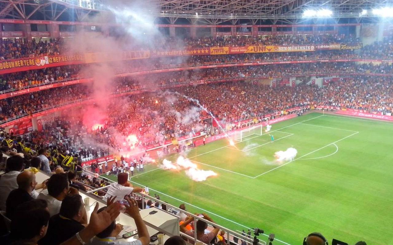 Galatasaray ile Fenerbahçe'nin tribün rekabeti