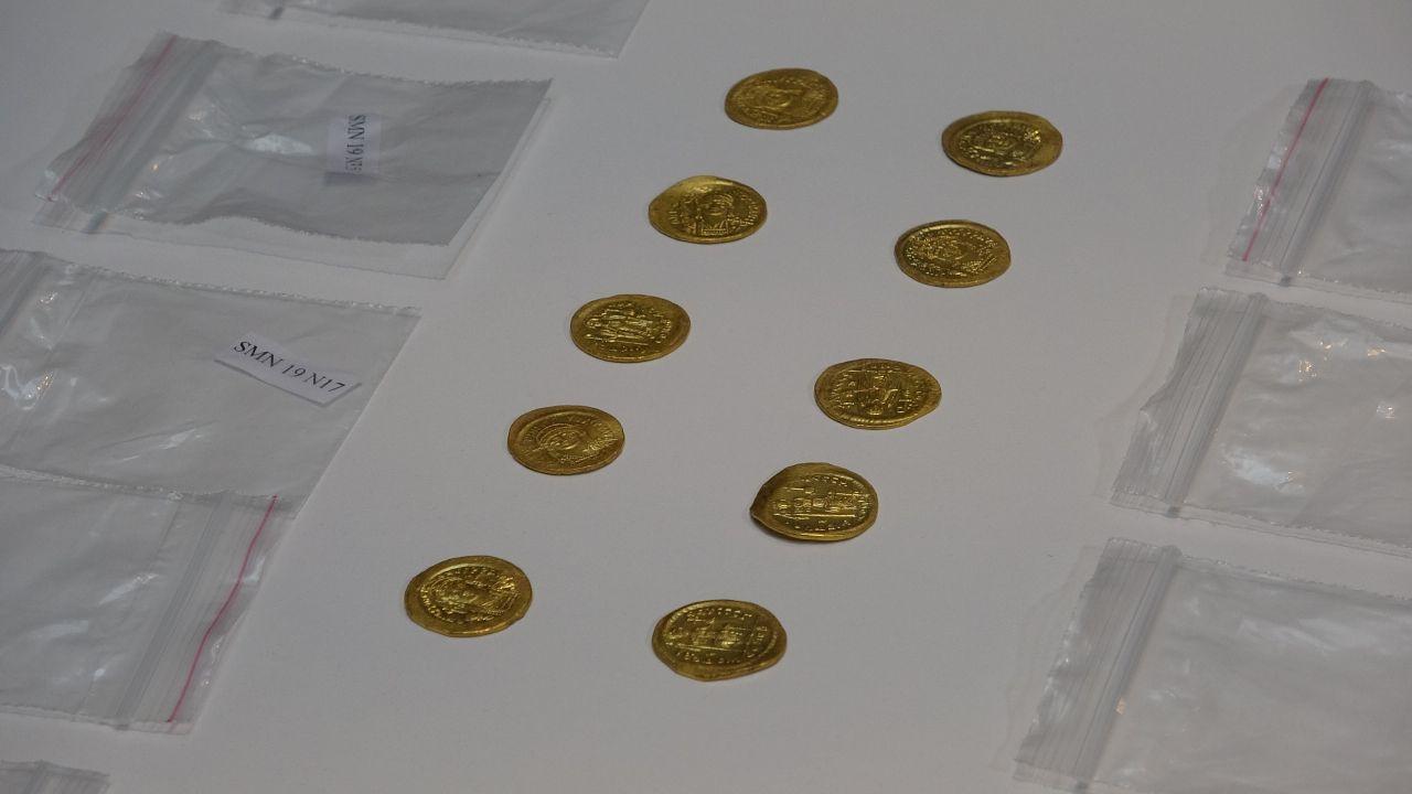 Çanakkale'de Apollon Smintheus Tapınağı'nda Bizans hazinesi bulundu! Tam 1500 yıllık