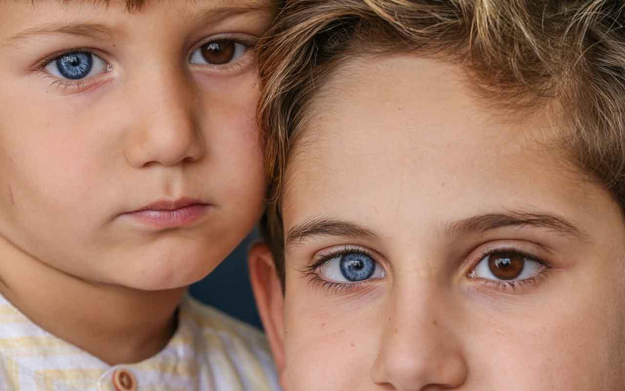 Dünyayı mavi kahverengi gözlerle görüyorlar