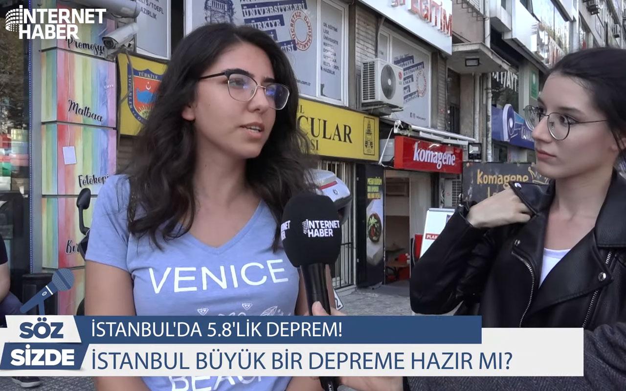 İstanbul büyük bir depreme hazır mı vatandaşlar ne diyor?