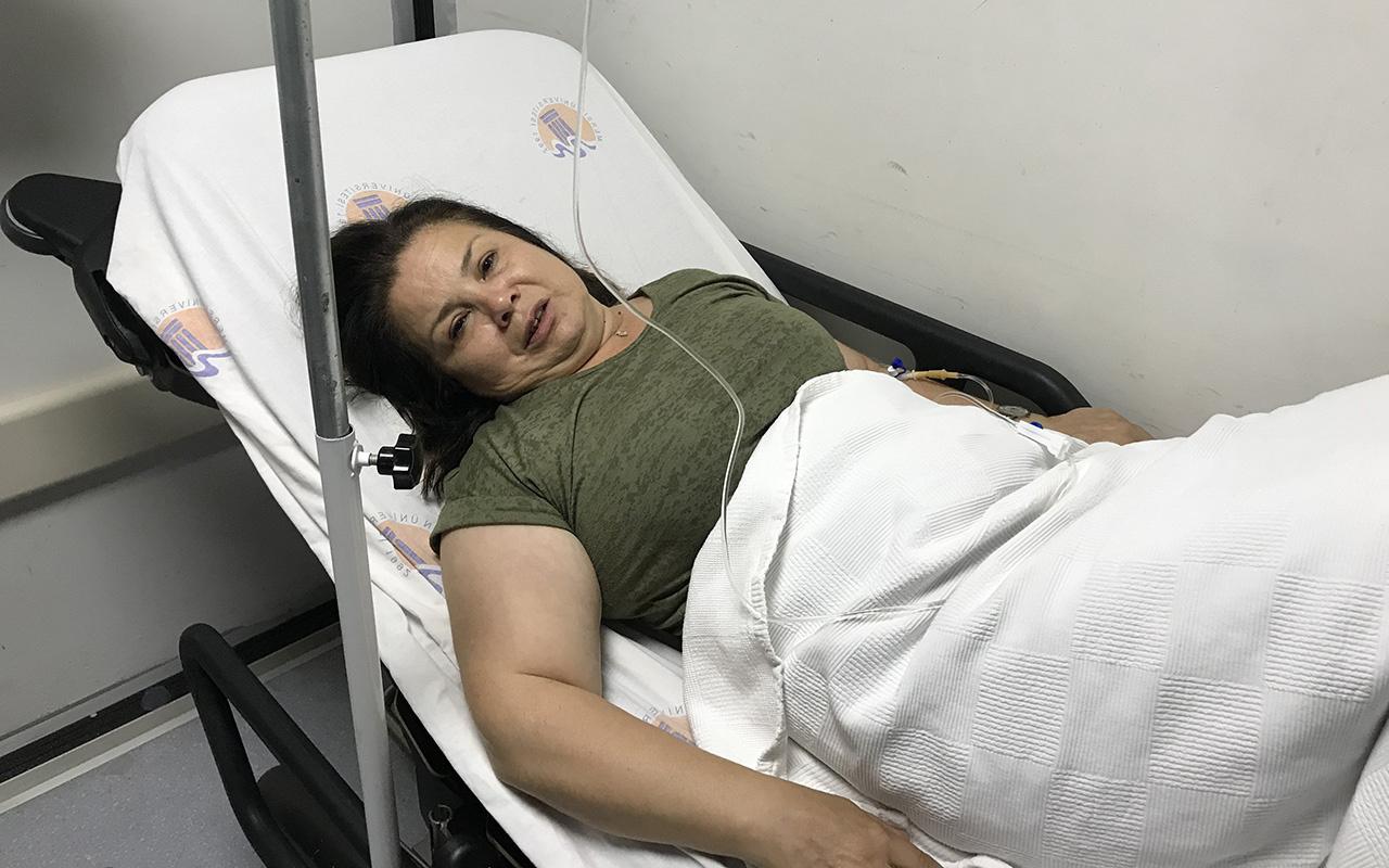 Mersin'de kadın öğretmen darp edildi