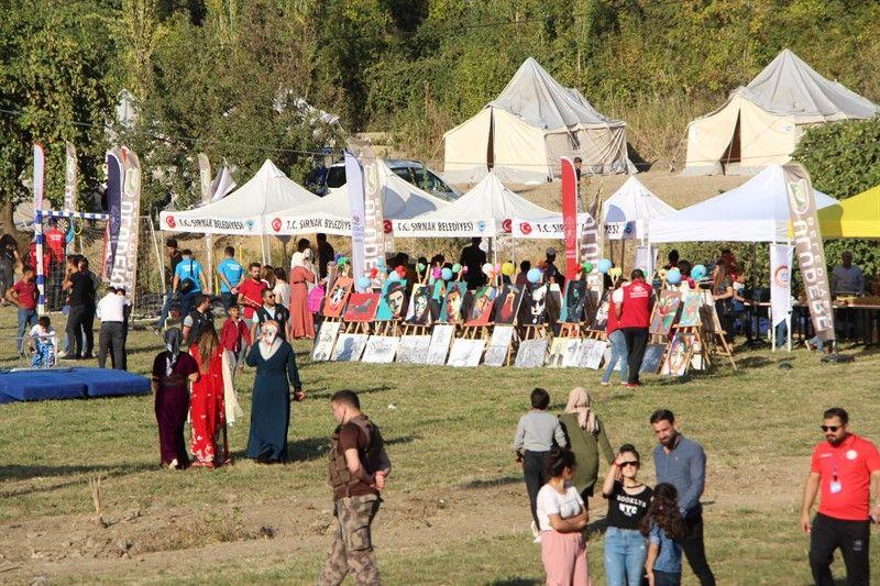 Terörden temizlenen Kato Dağı'nda festival rüzgarı esti