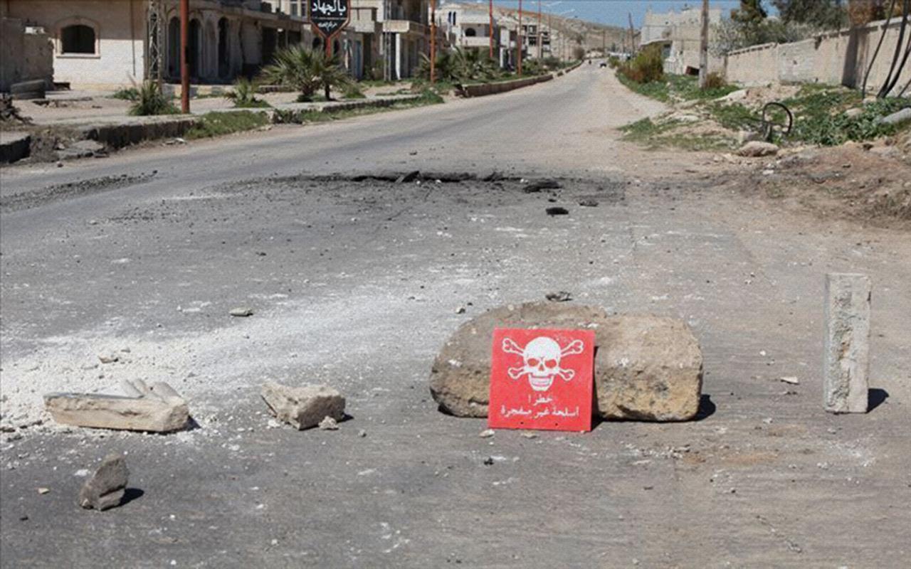Suriye muhalefetinden kimyasal silah mesajı