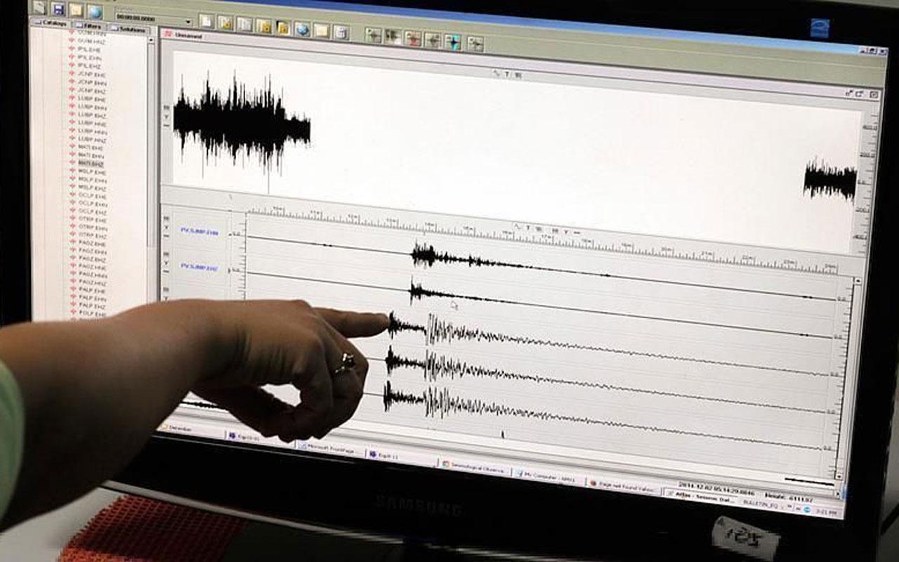 Akdeniz'de korkutan deprem!  Kandilli Rasathanesi şiddetini ölçtü