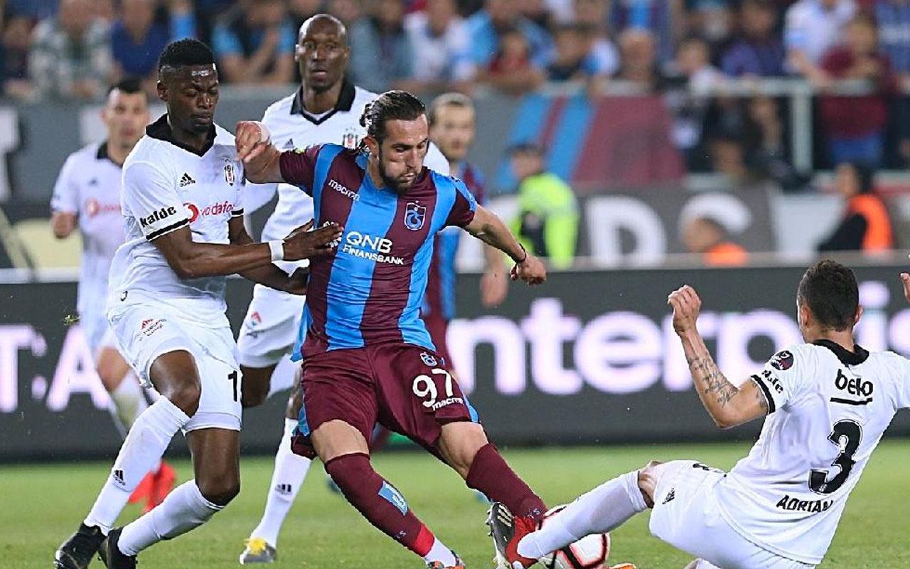 Trabzonspor ile Beşiktaş 129. randevuya çıkacak