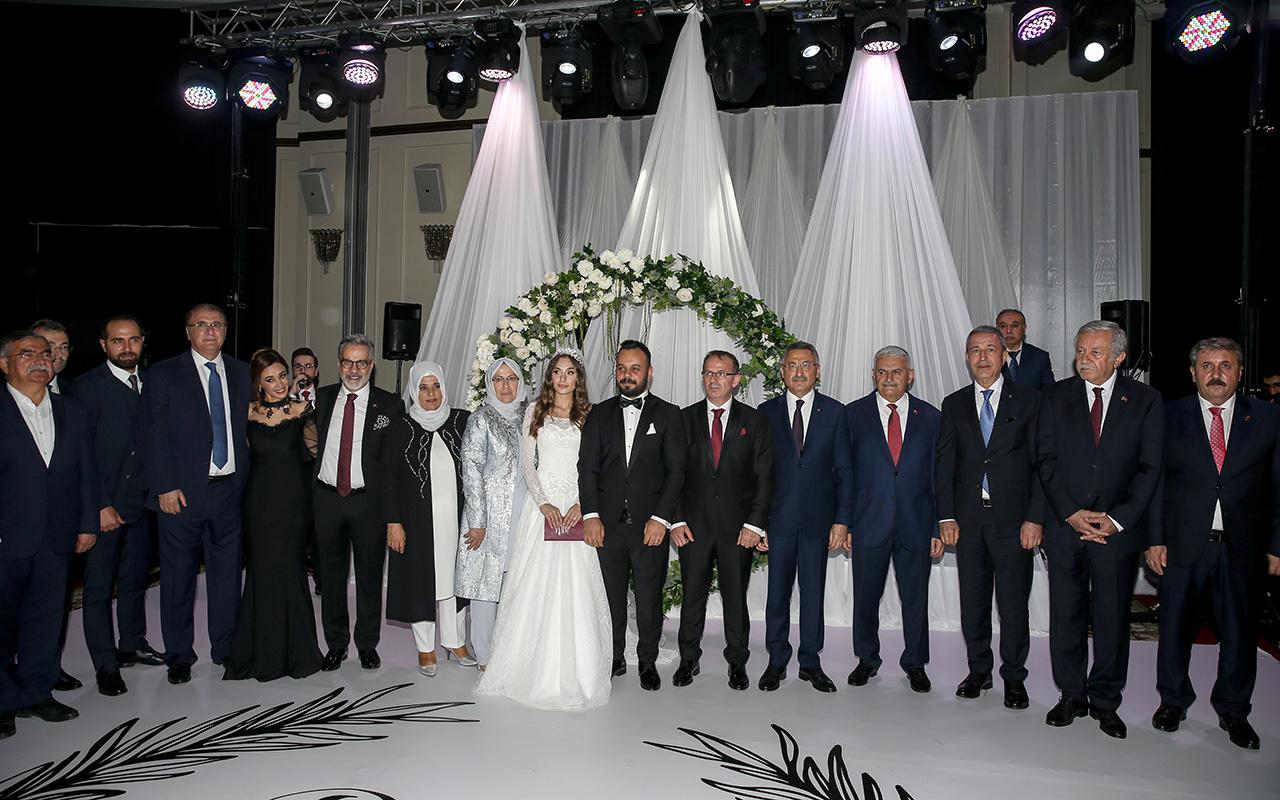 Siyaset ve iş dünyası Rıdvan Özışık'ın düğününde buluştu