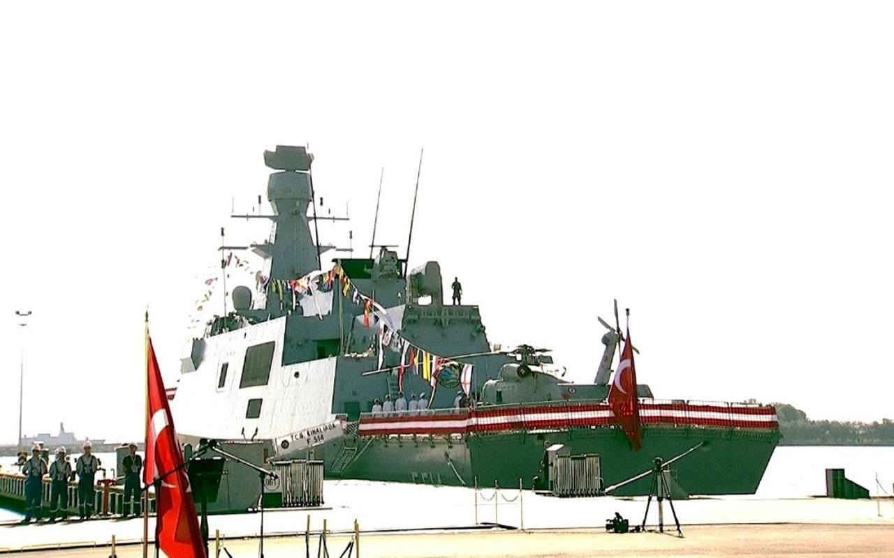 İşte Türkiye'nin yeni milli savaş gemisi TCG Kınalıada'nın özellikleri