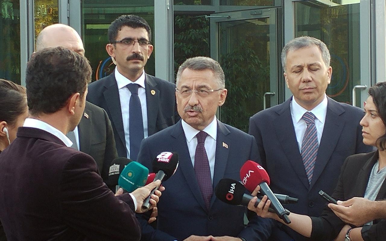 Fuat Oktay: Biz neyle uğraşıyoruz Kılıçdaroğlu neyle uğraşıyor
