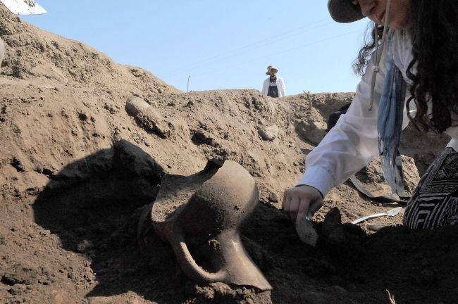 Norik Höyük'te atalarımız işte bundan yemiş! 3 bin yaşında