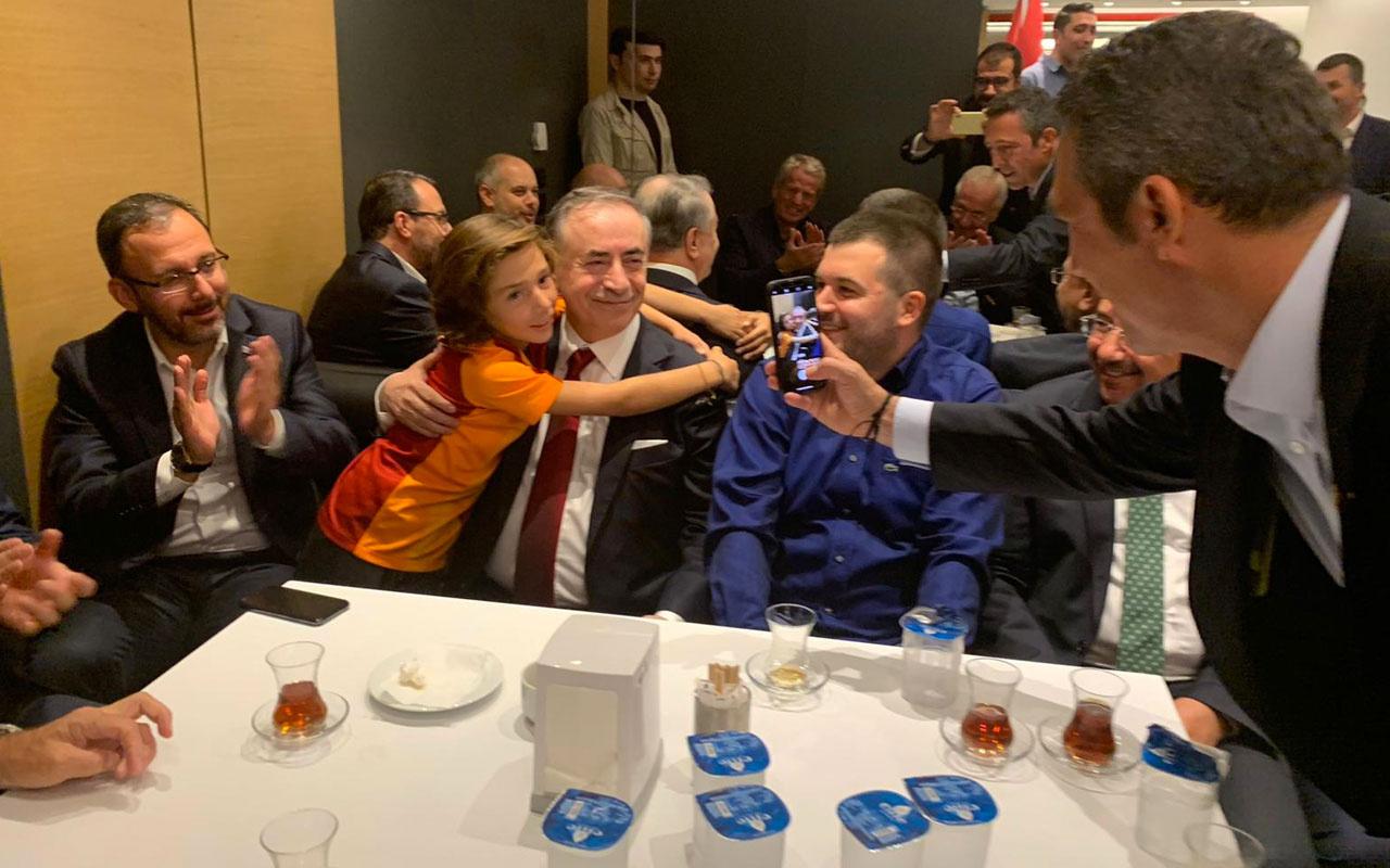Nihat Özdemir Ali Koç'un çektiği fotoğrafın perde arkasını anlattı