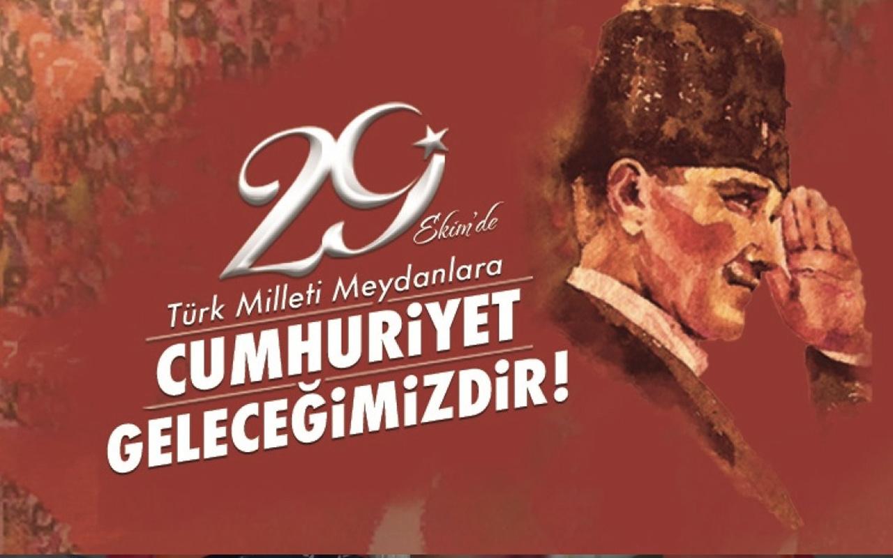 Bu sene Cumhuriyet'in kaçıncı yılı kutlanacak 29 Ekim ne zaman?