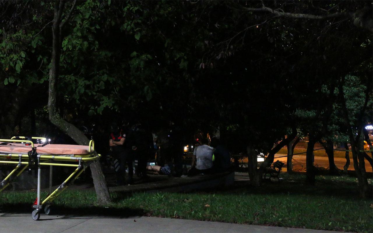 Beşiktaş'ta korkunç görüntü! Ağaca asılı bulundu