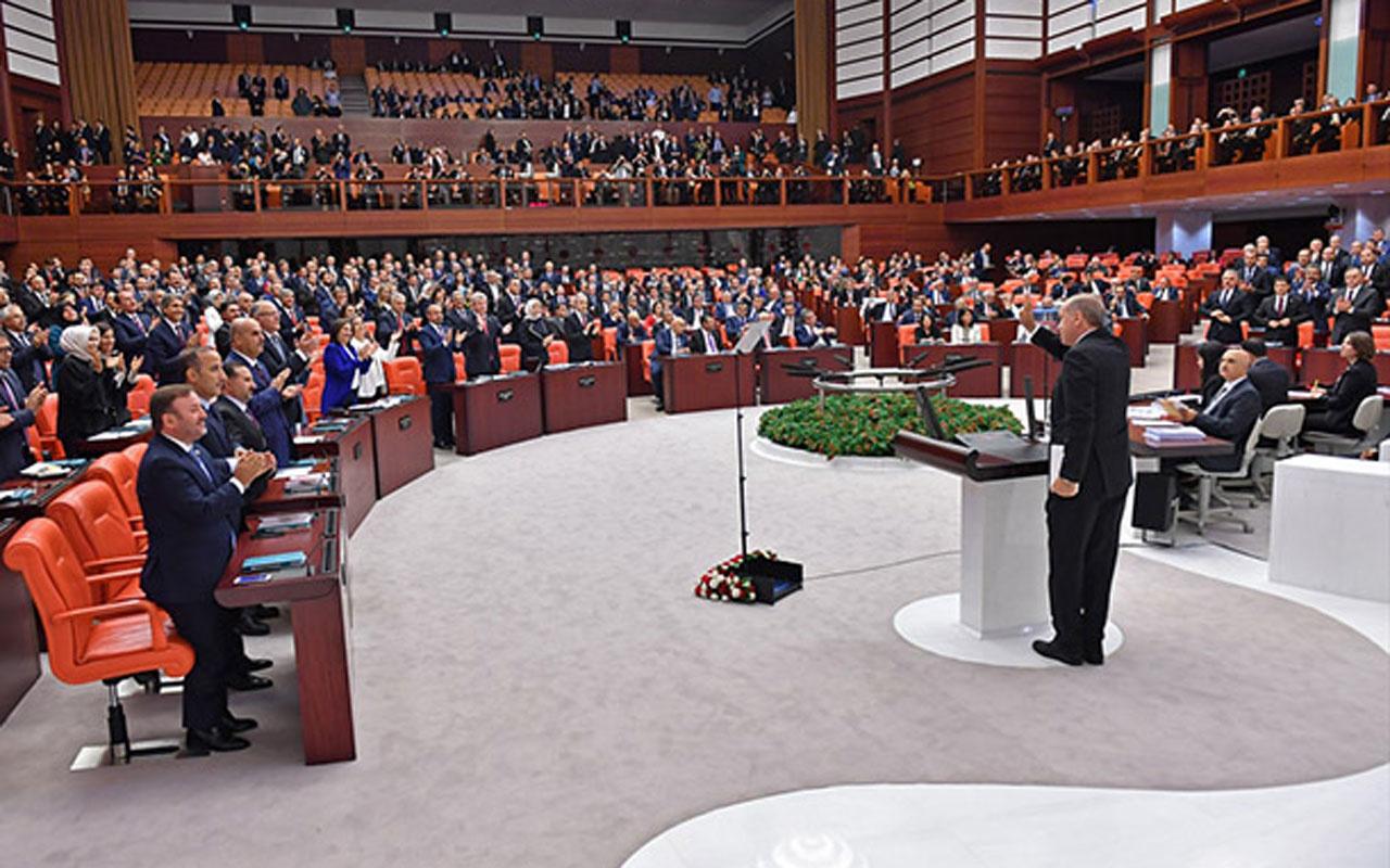 TBMM'de yeni yasama yılı başlıyor! Erdoğan Genel Kurul'a hitap edecek