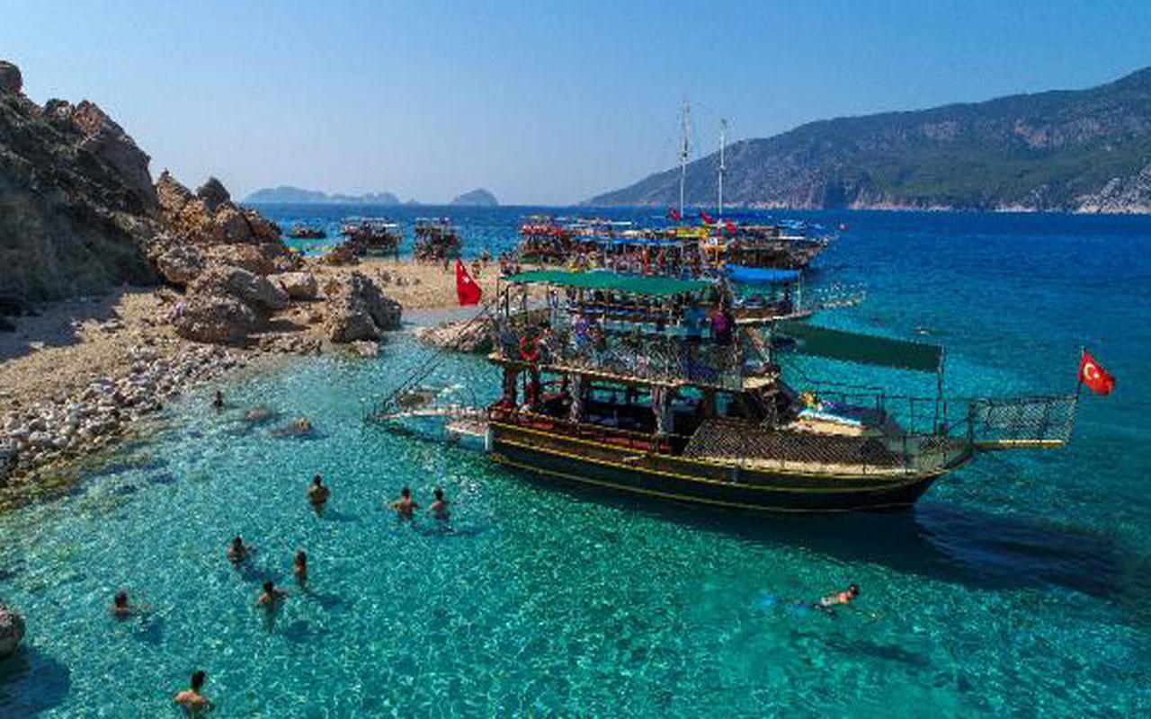 Antalya Kumluca'daki Suluada bu yıl sezonu bir ay daha geç kapatacak