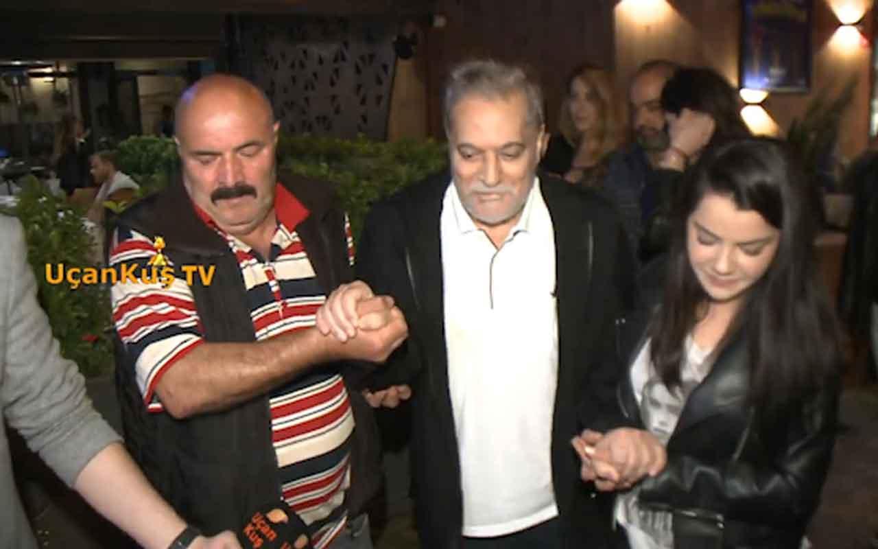 Mehmet Ali Erbil 22'lik sevgilisi Alisa Nasya ile yakalandı