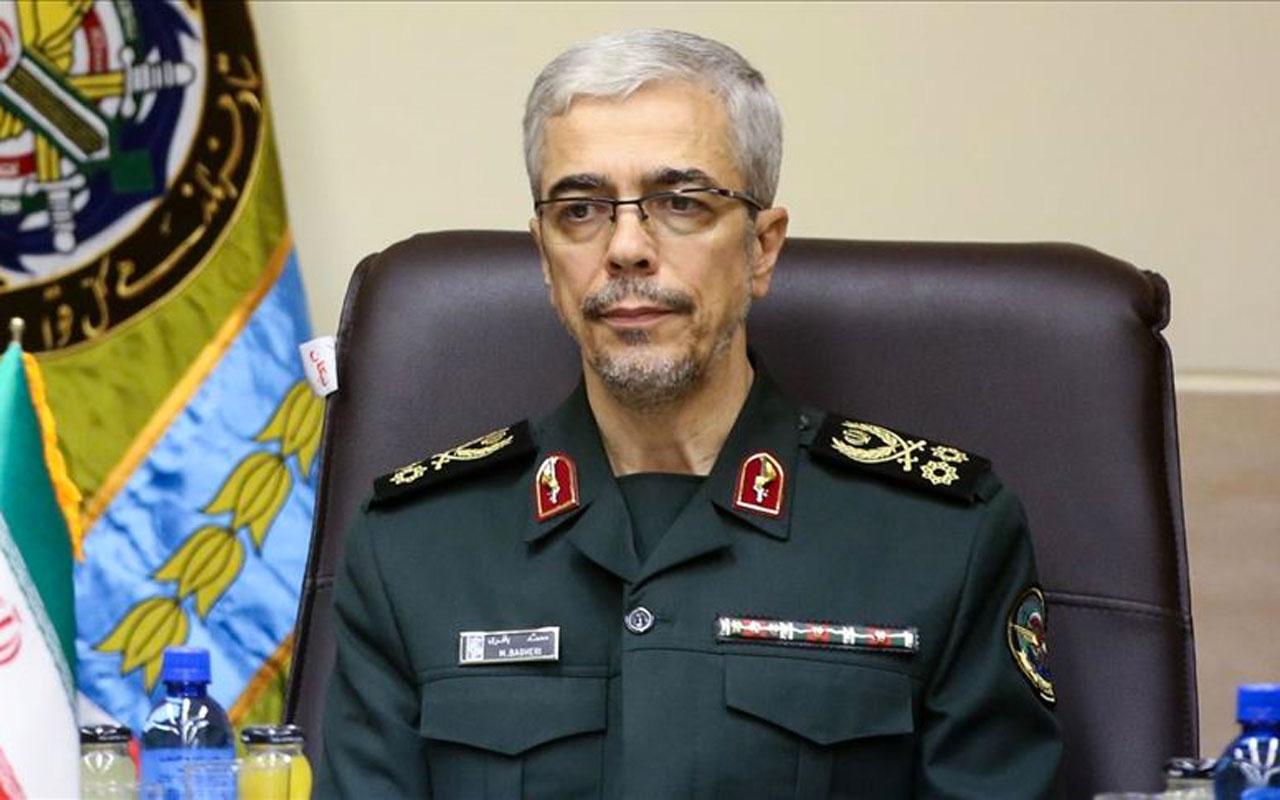 İran ordusunun en tepesindeki isim açık açık söyledi