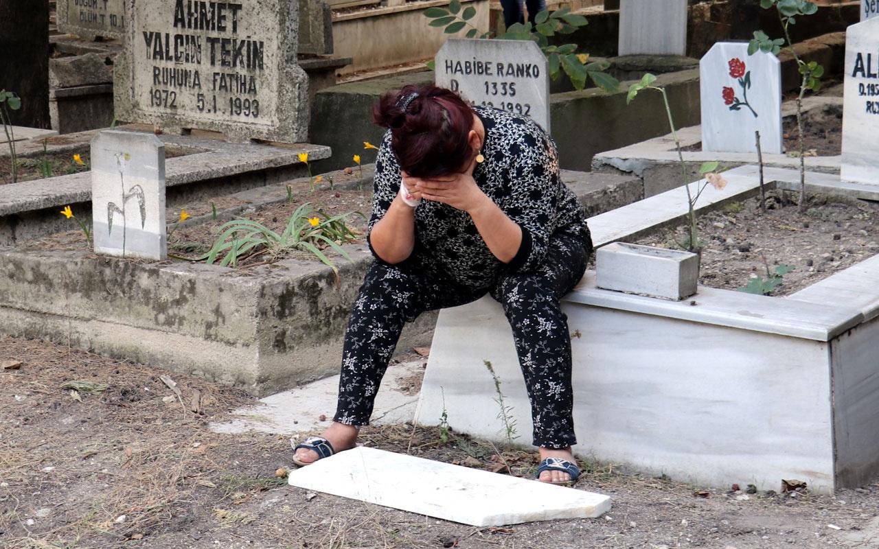 Kırklareli'de iğrenç olay mezarlıkta poşetin içinde bulundu