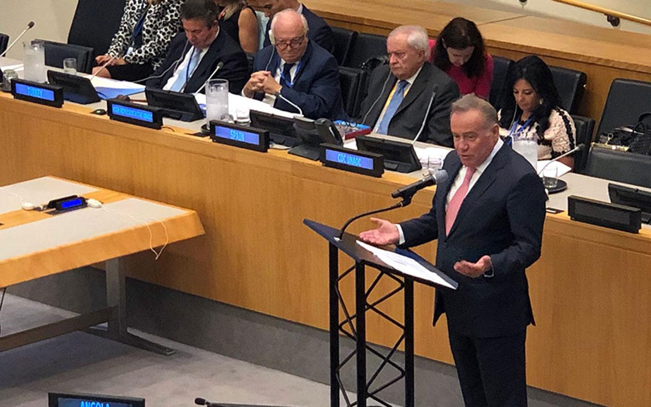 Türk eğitimci Enver Yücel BM kürsüsünde konuştu