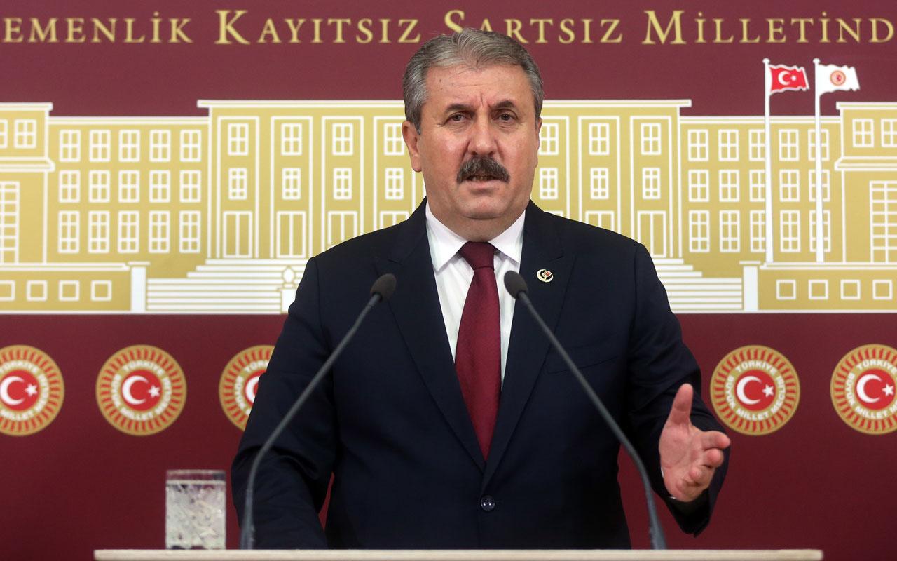 BBP lideri Mustafa Destici'nin yüzde 50 artı 1 açıklaması dikkat çekti