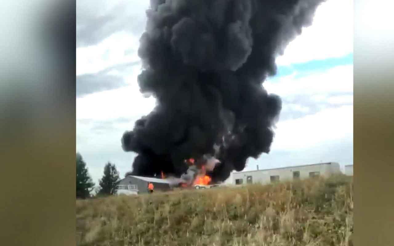ABD'de uçak kazası: 5 ölü, 9 yaralı