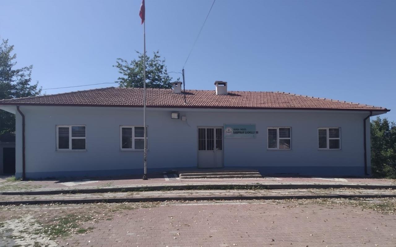 Bursa'da depremde hasar olan okulda eğitim durduruldu