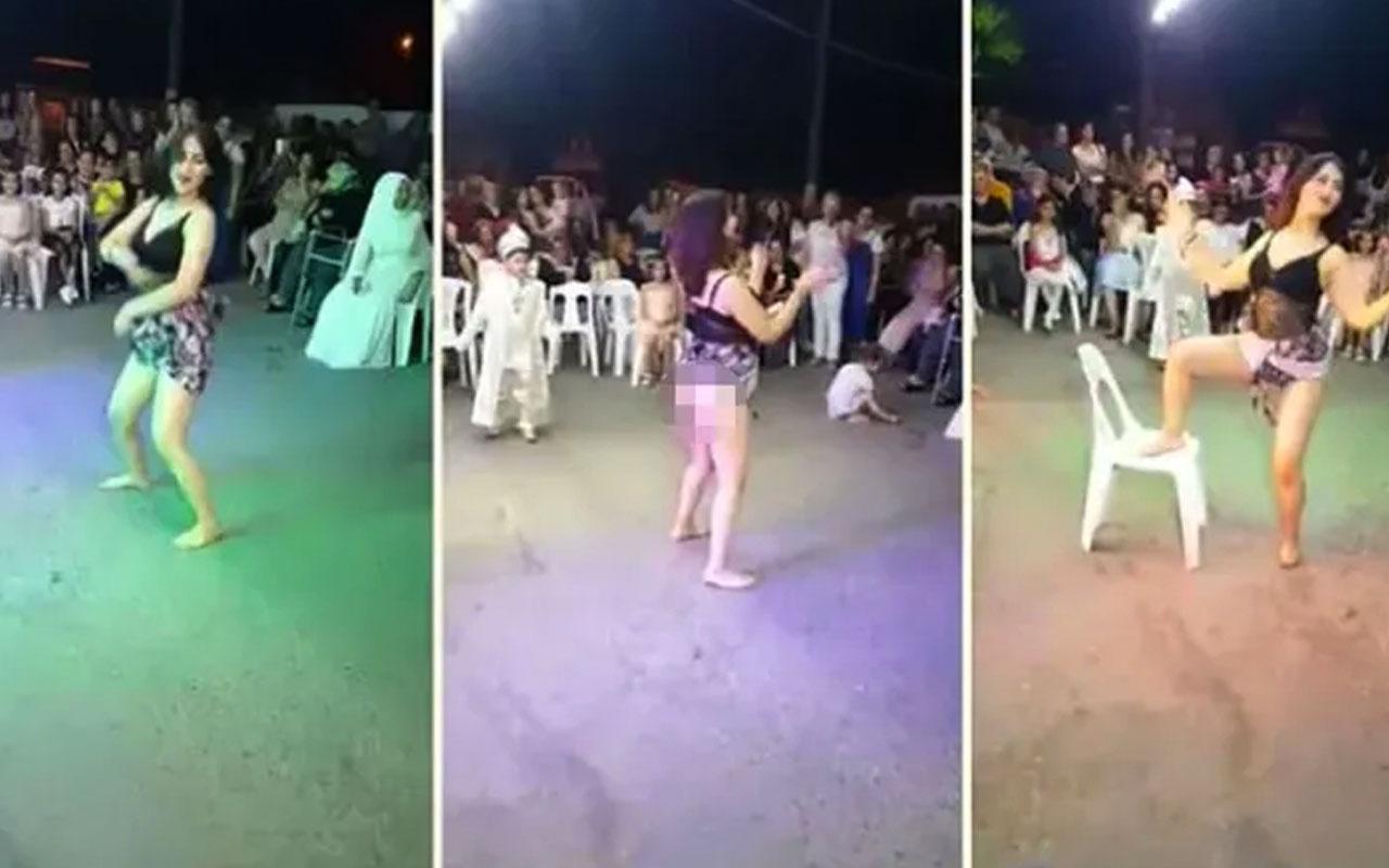 Sünnet düğününde etek kaldırıp 'popo sallama' dansı sonrası skandal savunma
