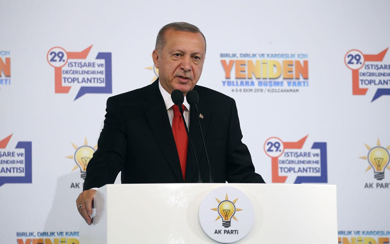 Cumhurbaşkanı Erdoğan'dan Ak Partililere fitne uyarısı!