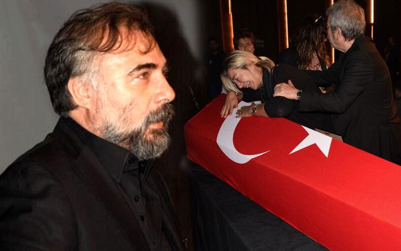 EDHO'nun yıldızı Oktay Kaynarca Tarık Ünlüoğlu cenazesi sonrası gelen yoruma köpürdü
