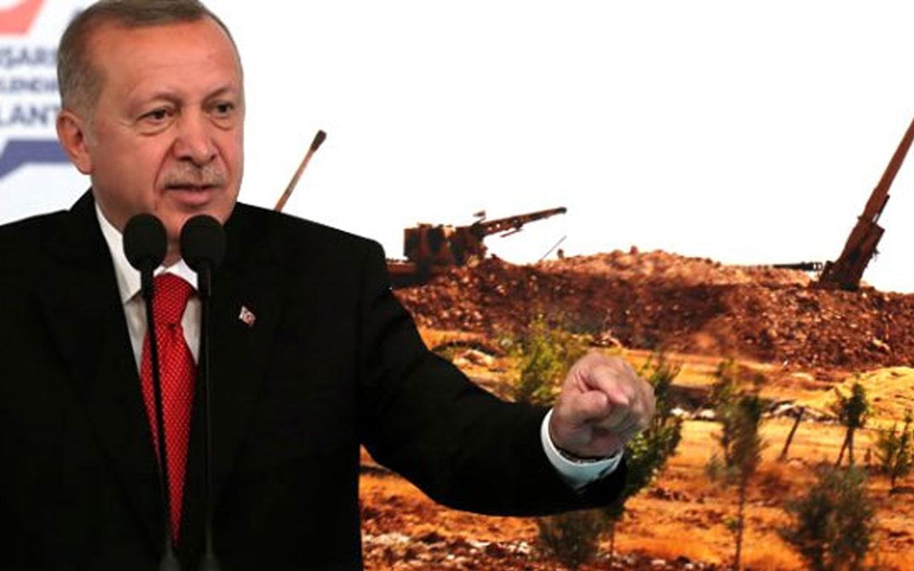 Erdoğan talimatı verdi! Silahlar ateşleme pozisyonu aldı