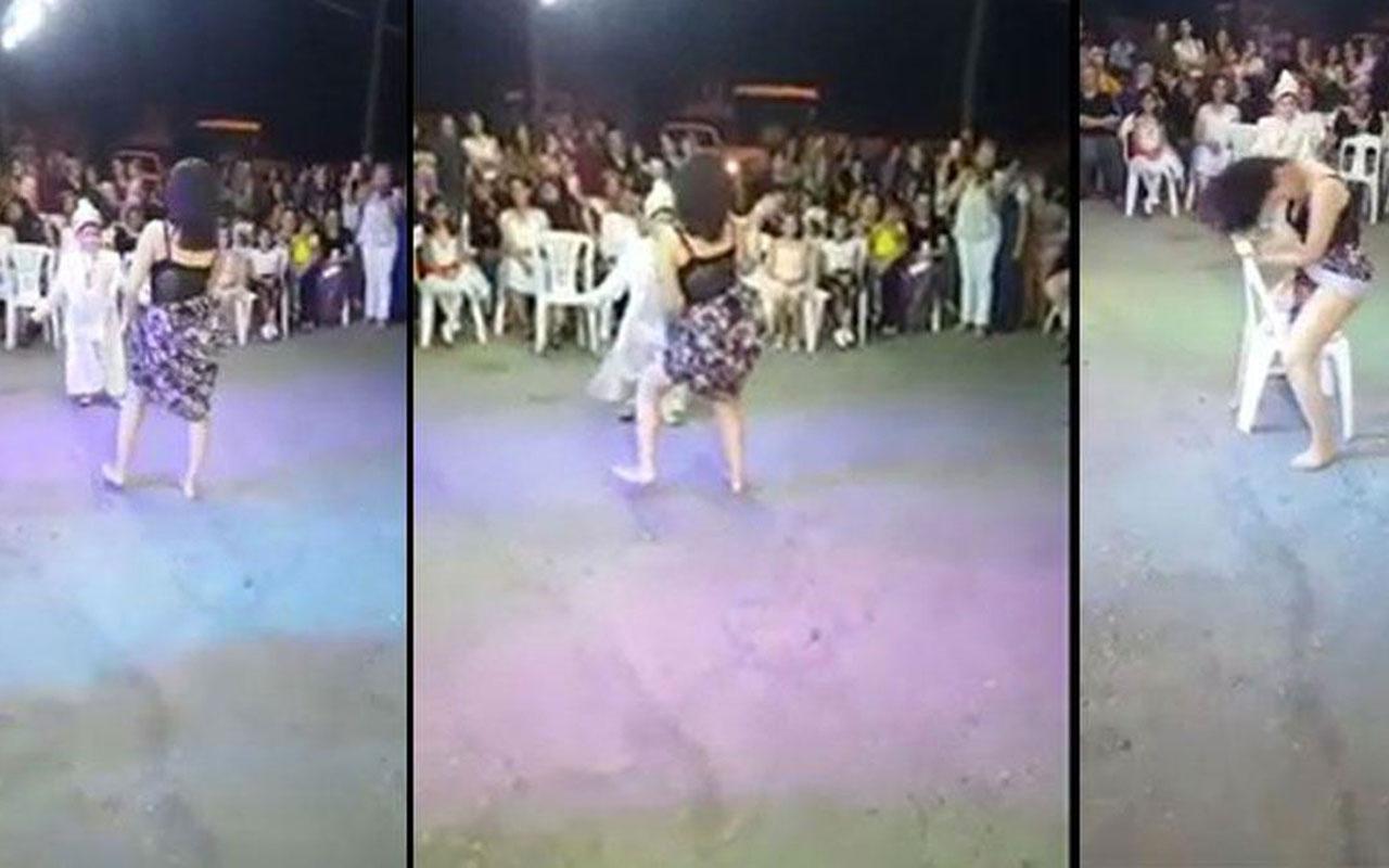Tepki çeken sünnet düğünündeki görüntülerde yer alan dansöz için şok karar!