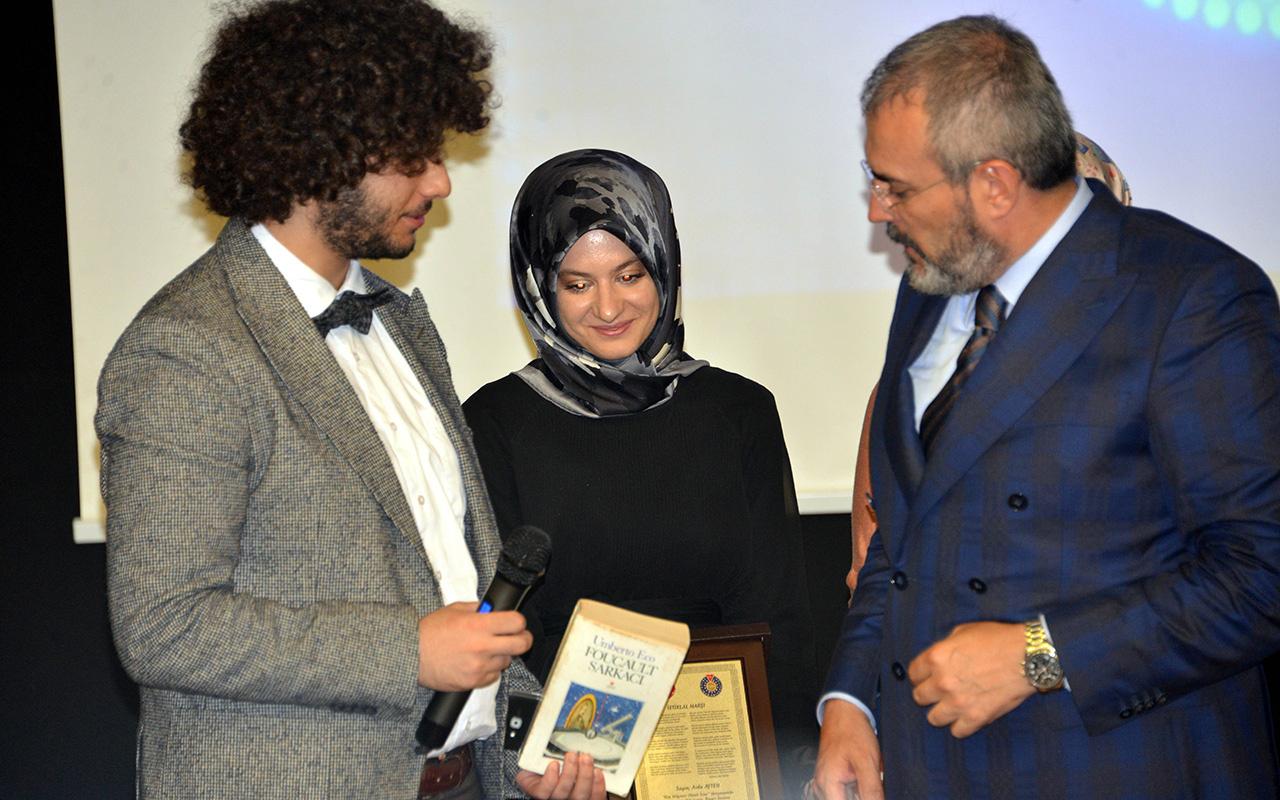 1 milyonluk ödülü kazanan Arda Ayten'e üniversitede yoğun ilgi